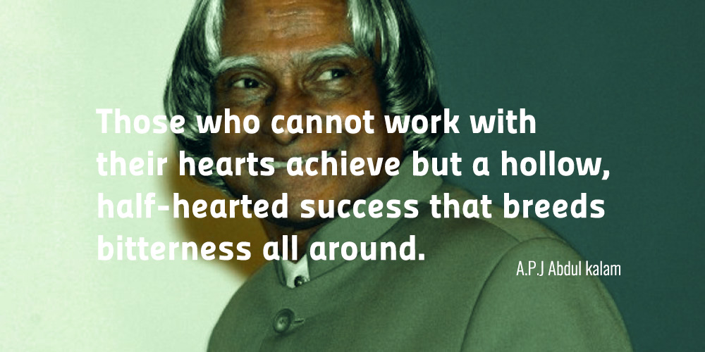 Abdul Kalam Inspiration Quotes
