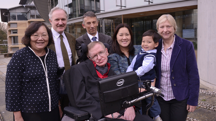 Stephen Hawking Family
