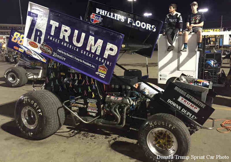 donald-trump-sprint-car-photo