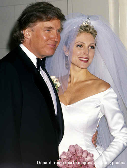 Donald Trump and Marla Maples (Photo by Ron Galella/WireImage)