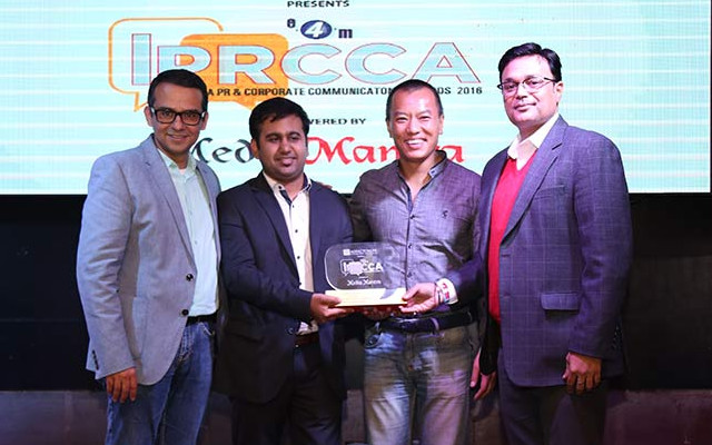 Young PR Professional of the Year Award at IPRCCA 2016
