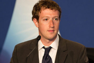 Youngest CEO of Popular Social Mediam Facebook Mark Zuckerberg