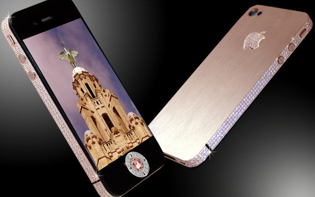 iPhone 4 Diamond Rose